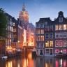 I live in Amsterdam.
