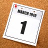 1st March 1919
