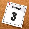 October 3rd