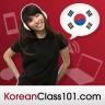 I'm learning Korean at KoreanClass101.com.