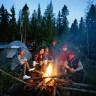 Go camping with friends.